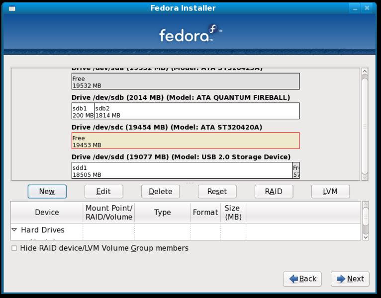 File Fedora 11 Installation On Raid 5 Array Screenshot13