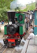 Feldbahn OuK Mallet im Betrieb