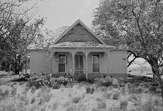Yuma County, Colorado - Old Yuma County farmhouse near Clarkville, Colorado
