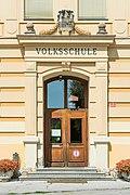 Feldkirchen Schulhausgasse 1 Volksschule Portal 02082018 6099.jpg