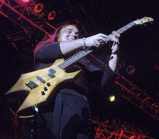 Felipe Arcuri Venezuelan musician. Bassist of Venezuelan heavy metal band Arkangel