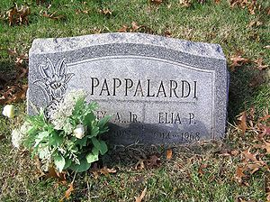 Felix Pappalardi - The grave of Felix Pappalardi in Woodlawn Cemetery