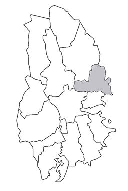 Fellingsbro herreders beliggenhed i Västmanland.