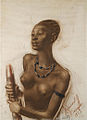 Female from mangbetu tribe by A.Yakovlev (1925).jpg