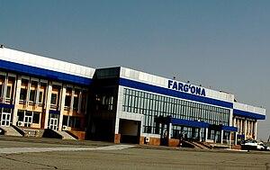 Fergana - Fergana Airport.