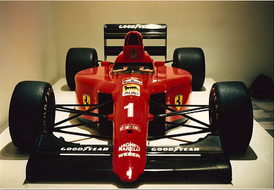 Ferrari placed second in the 1990 Formula One World Championship for Constructors Ferrari 641 MOMA 2.jpg