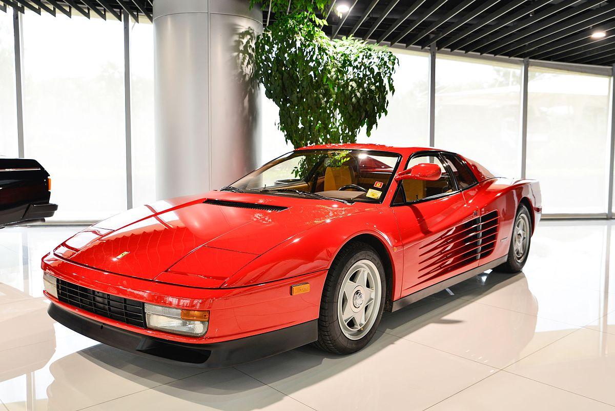 Ferrari Testarossa Wikipedia