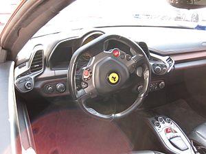Ferrari 458 - Interior