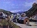 Ferrovia della Val Gardena - Stazione di Ortisei 1922.jpg