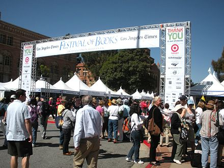 2009 Los Angeles Times Festival of Books on the UCLA campus Fest of Books 2009.jpg