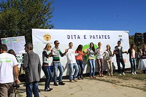 Shishtavec - Image: Festa e Patates Shishtavec