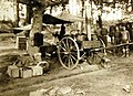 Field kitchen of the 302nd Engineer Train, 77th Division, near Dole, France, 1918 (33052834606).jpg