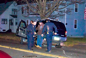 Police in Connecticut administer the one leg s...