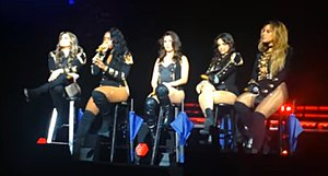 Fifth Harmony - Fifth Harmony performing on their 7/27 Tour, in 2016.