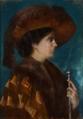 Figura Feminina, D. Maria Adelaide Coelho da Cunha - Ernesto Condeixa (1858-1933).png