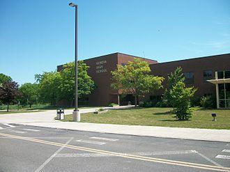 Geneva High School (New York) - Image: File Geneva High School NY