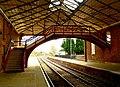 Filey Station Footbridge and Platform - geograph.org.uk - 1546907.jpg