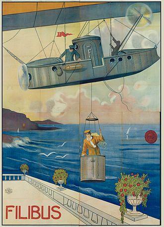 Filibus - Image: Filibus airship poster