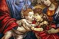 Filippino lippi, sacra famiglia coi ss. giovanni battista e margherita, 1495 ca. 05.jpg
