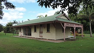 Finch Hatton, Queensland - Finch Hatton railway station, 2016