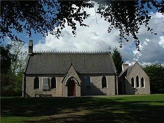 Finzean - Finzean Church in 2004, before recent works