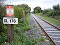 Fiodh Dúin (Fiddown), Railway line to Carrick-on-Suir - geograph.org.uk - 261346.jpg