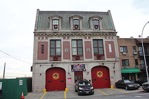 Corona, Queens - Firehouse in Corona