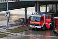 Fire engine during removal of dirt and water after the Danube floods of 2013, 2.jpg