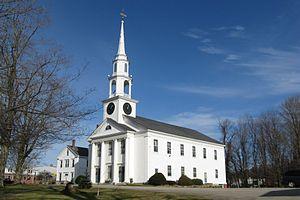 North Brookfield, Massachusetts - First Congregational Church