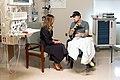 First Lady Melania Trump Visits Walter Reed National Medical Center (47926539171).jpg
