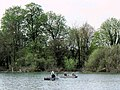 Fishing from boats near the woodland edge, Tringford Reservoir - geograph.org.uk - 1417929.jpg