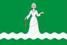Flag of Drezna (Moscow oblast).png