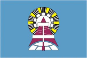 Noyabrsk - Image: Flag of Noyabrsk (Yamal Nenetsia)