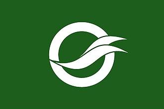 Yanai, Yamaguchi - Image: Flag of Yanai Yamaguchi