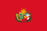 Flag of the Peru-Bolivian Confederation.svg