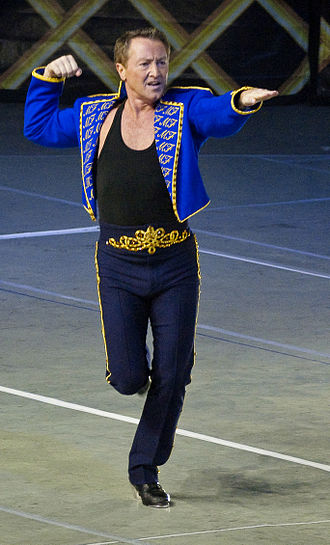 Feet of Flames - Flatley as Lord of the Dance during his return