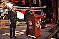 Flickr - Official U.S. Navy Imagery - A Sailor announces the third round draft pick of the 2012 NFL Draft..jpg