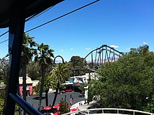 Description de l'image Flight_Deck_at_California's_Great_America.jpg.