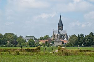 Thorn, Netherlands - The abbey church of Thorn
