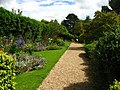 Floral path at Upton castle - geograph.org.uk - 922522.jpg