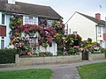 Flower covered house on the corner of Botley Drive and Purbrook Way - geograph.org.uk - 943409.jpg