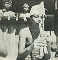 Flute player, Bali The Isle of the Gods, p90.jpg