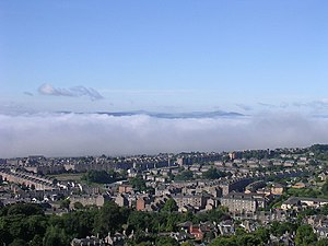 Fog in the Tay estuary - geograph.org.uk - 9750