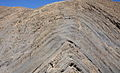 Folded Rock Layers Pang La Pass Tibet.jpg