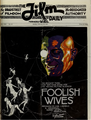 Foolish Wives by Erich von Stroheim 5 Film Daily 1922.png