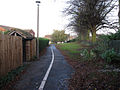 Foot and cycle path - geograph.org.uk - 1575202.jpg