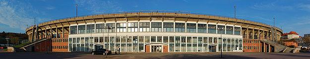 Football stadium Za Lužánkami Brno Panorama 2010.jpg