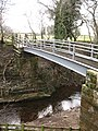 Footbridge over Cod Beck - geograph.org.uk - 717102.jpg