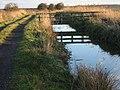 Footbridge over The Delf - geograph.org.uk - 658660.jpg