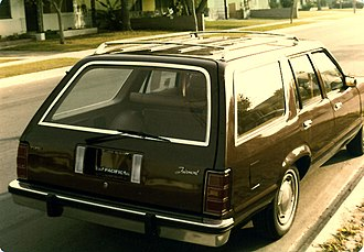 Ford Fairmont - Image: Ford Fairmont Wagon Rear